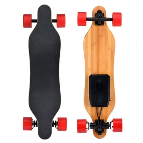 33'' Dual HUB Motor Electric Skateboard 7S2P 4.4Ah 70*51mm 700W