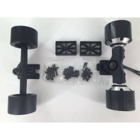 Dual HUB Motor 83*52mm 900W 75KV Power Truck & Front Truck Kit