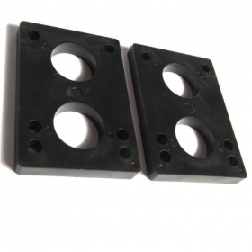 Longboard Shockpad PU Risers 8mm Thickness
