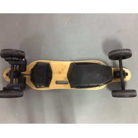 36'' Dual Motor 6'' Wheels All-terrian Electric Skateboard 10S5P