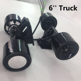 Dual HUB Motor 70*51mm (350W*2) 6''Power Truck & Front Truck Kit