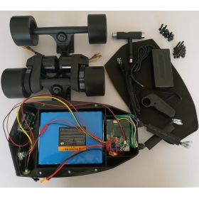 10S5P 360WH Battery& ESC & Dual Motor Belt Drive Power Truck Kit