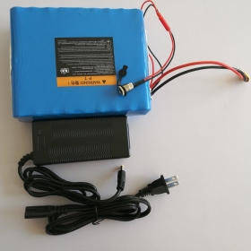 10S5P 18650 Lithium Battery Pack 36V, 10Ah, 360Wh with Charger