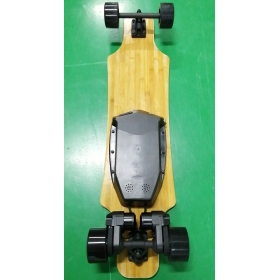 7f393901f663 38'' Dual Motor Belt-Drive Electric Skateboard 10S5P 36V 90*52mm ...