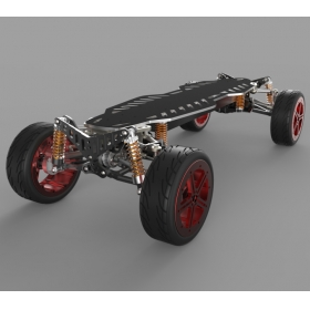 Extreme Off Road All Terrain Electric Skateboard With